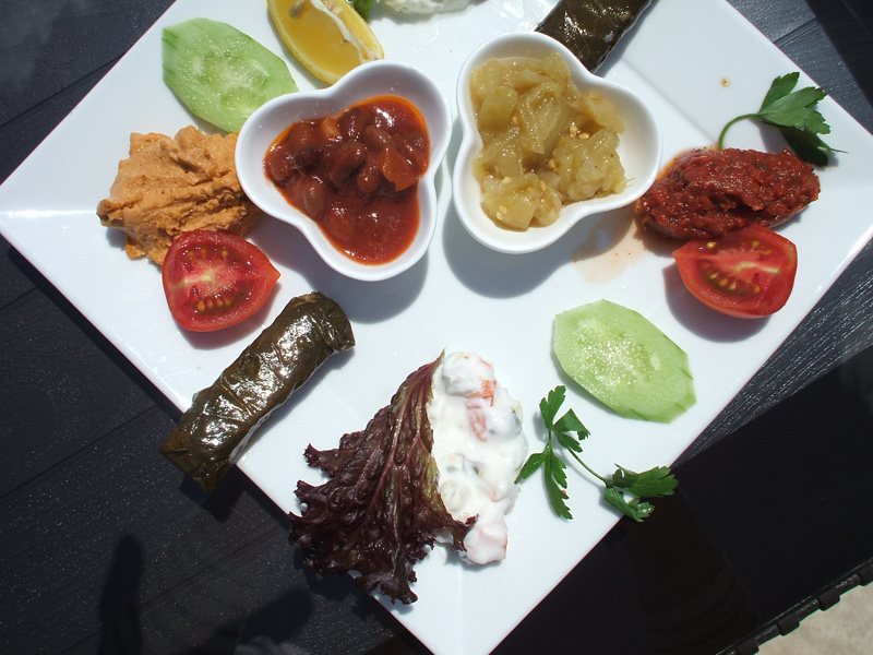 Plate of meze